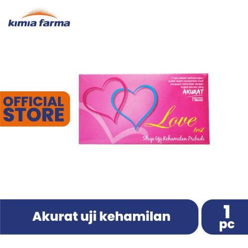 Foto Produk LOVE TEST STRIP UJI KEHAMILAN dari Kimia Farma Official
