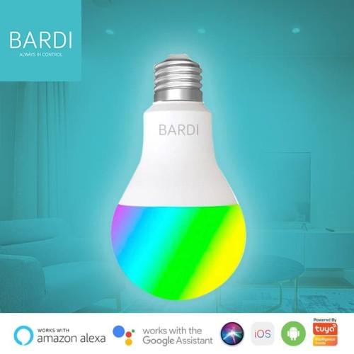 Foto Produk BARDI Smart LIGHT BULB RGB+WW 12W Wifi Wireless IoT - Home Automation dari Bardi Official Store