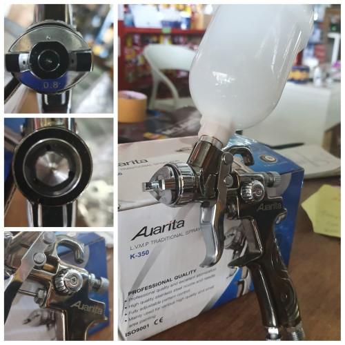 Foto Produk Spray Gun HVLP Mini Auarita K350 dari Sumber teknik