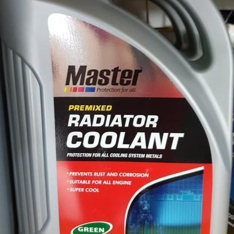 Foto Produk Air Radiator Coolant Master Premixed Green 4 lt -63773 dari Jasutra motor