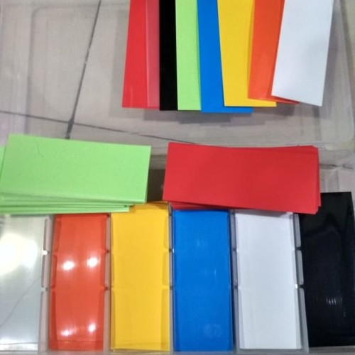 Foto Produk Slave Wrap Baterai Coil Gear PVC Baterai Wrap 1/pcs 280/pack Vape dari Tamy Shop