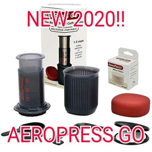 Foto Produk Original AeroPress GO Travel Coffee Press New Design Coffee Maker dari Kopi Jayakarta