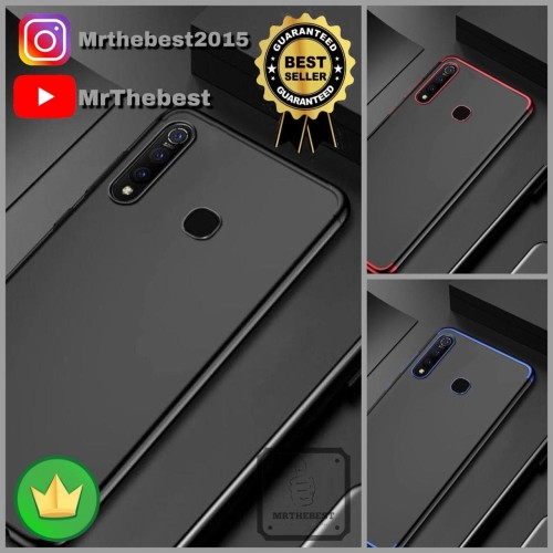 Foto Produk SAMSUNG GALAXY A50 A505 SOFT CASE PLATING KORI LUXURY LIST COLOR CROME dari MrThebest