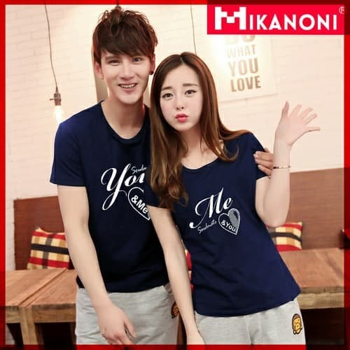 Foto Produk kaos / baju couple you n me dari aneka baju couple murah
