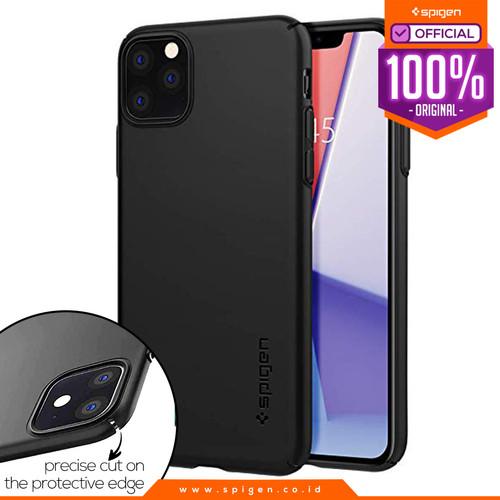 Foto Produk Case iPhone 11 Pro Max / 11 Pro / 11 Spigen Thin Fit Air Slim Hardcase - 11 Pro Max dari Spigen Official