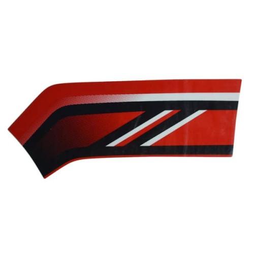 Foto Produk Stripe L FR Cover Type 2 Merah - Genio 86543K0JN10ZE dari Honda Cengkareng