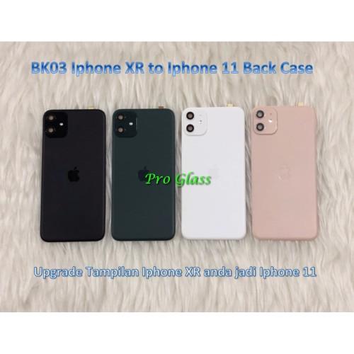 Foto Produk BK03 Iphone XR BACK Transformation Cover Sticker Case to Iphone 11 dari Pro Glass