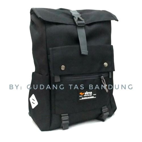 Foto Produk Ransel Premiun-Tas sekolah-tas backpack - Hitam dari gudang tas 1000