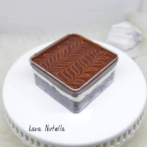 Foto Produk Lava Nutella bittersweet by najla dari ciasweetcake