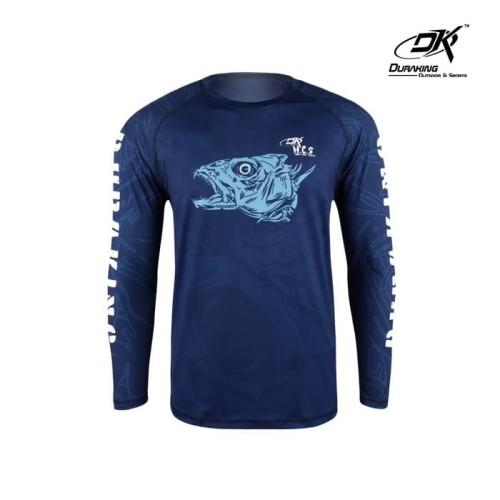 Foto Produk DK Fishing Jersey LS (Man) Hcs Fishious Blue - S dari Duraking Outdoor&Sports