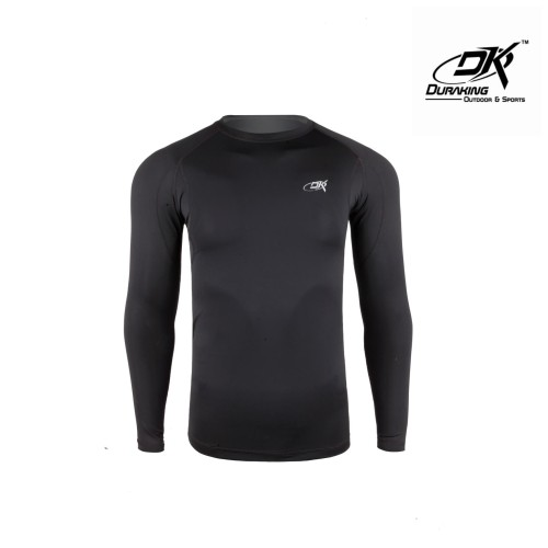 Foto Produk DK Fishing Jersey LS (Man) Basic Rashguard Black - S dari Duraking Outdoor&Sports