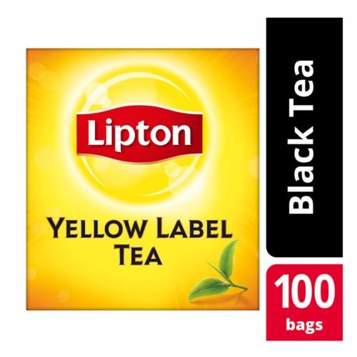 Foto Produk Lipton Yellow Label 100 Tea Bag Non Envelope dari Unilever Food Solution