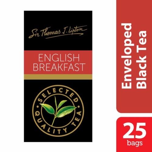 Foto Produk Lipton English Breakfast Stl 25x2.4g dari Unilever Food Solution