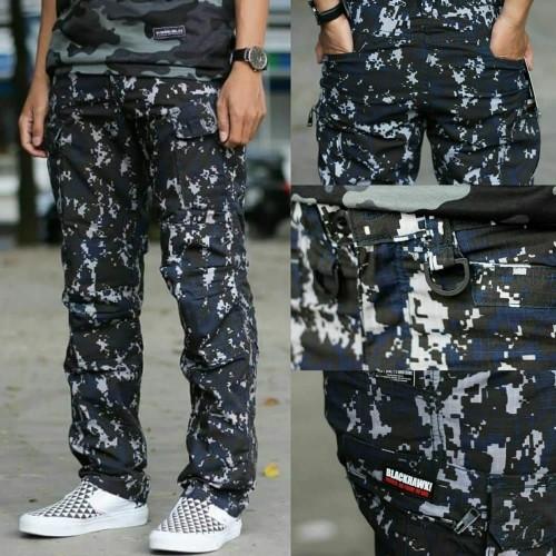 Foto Produk Celana blackhawk loreng / celana panjang pria / celana cargo loreng dari Arul army