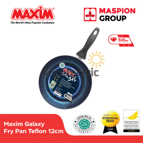 Foto Produk Maxim Galaxy Frypan Wajan Penggorengan Teflon Anti Lengket 12 cm dari SUN ELECTRIC