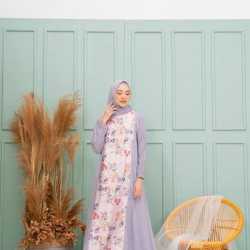 Foto Produk Shai Dress Flower White dan Pink EMA daily ORIGINAL - Flower White, XS dari Papa-Bubu Shop