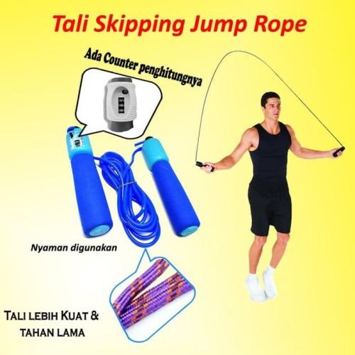 Foto Produk TALI SKIPPING DENGAN PENGHITUNG LONCATAN / TUMP ROPE / JUMP ROPE MURAH dari KUKE