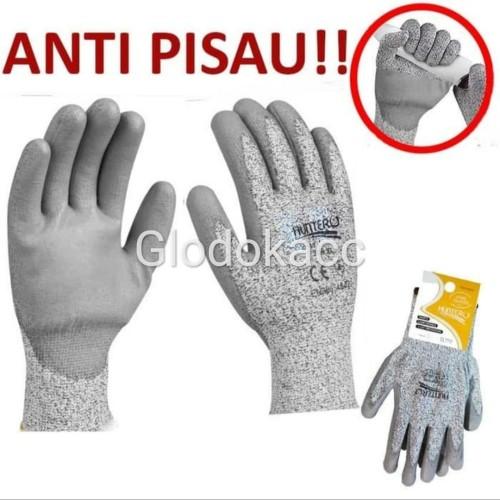 Foto Produk Sarung Tangan Cut Resistant / Hunter Sarung Tangan Anti Pisau dari Glodokacc