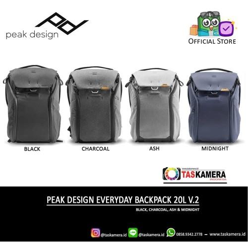 Foto Produk Peak Design Everyday Backpack 20L V2 NEW - Tas Kamera dari taskamera-id