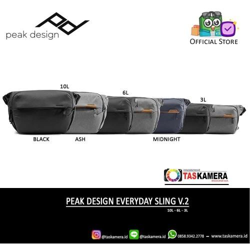Foto Produk Peak Design Everyday Sling 6L V2 NEW - Tas Kamera dari taskamera-id