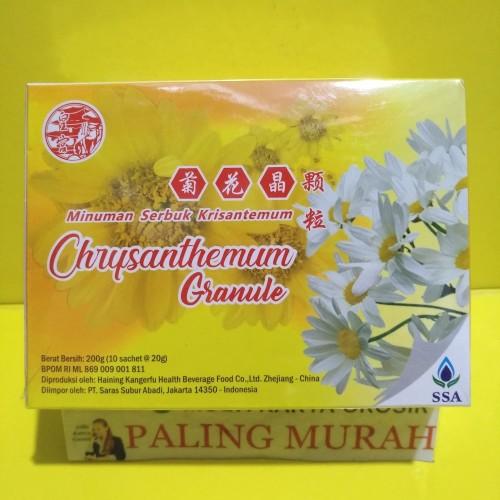 Foto Produk Minuman Serbuk Krisantemum / Krisantemum Granule dari MULTI KARYA GROSIR