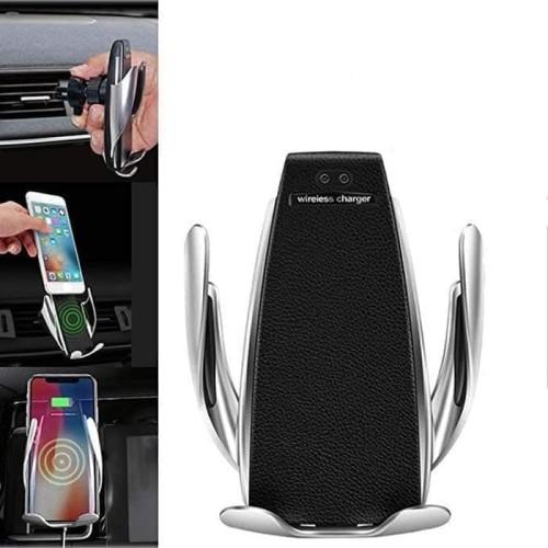 Foto Produk Wireless Car Charger Air Vent Smart Sensor Mount Holder Mobil 10W 2IN1 dari Y42N.ACC