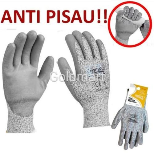 Foto Produk Sarung Tangan Cut Resistant / Hunter Sarung Tangan Anti Pisau dari Gold-Mart