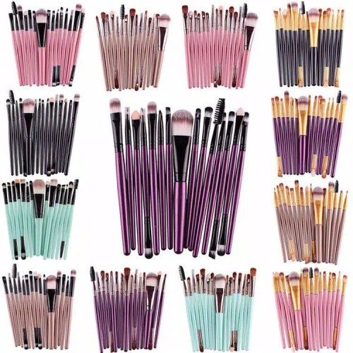 Foto Produk MAKE UP BRUSH SET 20 PCS - KUAS MAKEUP MURAH MERIAH ASLI IMPORT dari AgenGrosirMurah