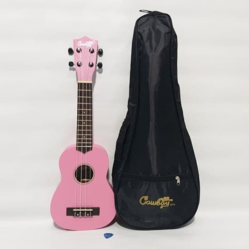 Foto Produk Ukulele Cowboy Sopran Sopran Warna Pink Original dari vero music store