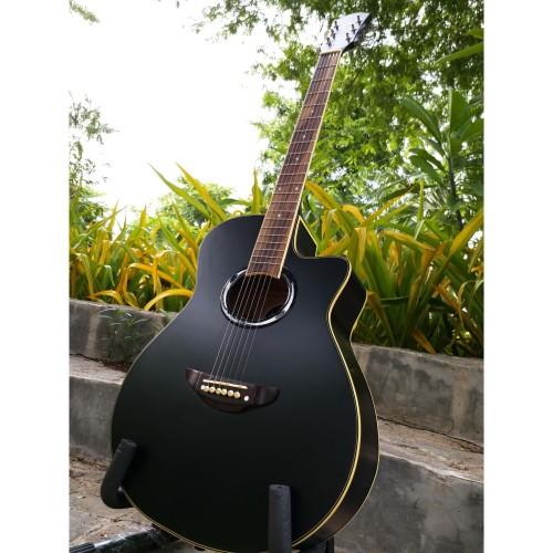 Foto Produk Gitar Akustik APX500ii Yamaha Murah Bonus Tas & Pick Alice dari Swishi Gitar