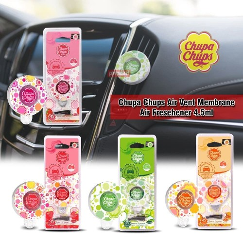 Foto Produk Chupa Chups Air Vent Membrane Air Freshener│Pengharum Mobil 4.5ml dari PERMAISURI