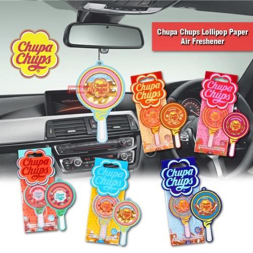 Foto Produk Chupa Chups Lollipop Paper Air Freshener│Pengharum Mobil 5.4g dari PERMAISURI