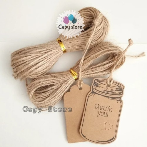 Foto Produk Hemp Rope / Tali Goni Vintage / Tali Rami Per Meter dari Cepy Store