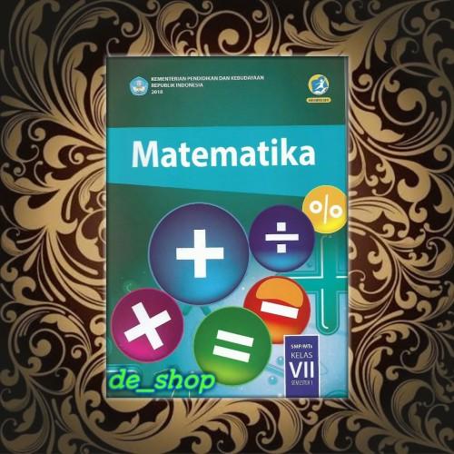 Foto Produk Buku Matematika Kelas 7 semester 1 dari De__shop