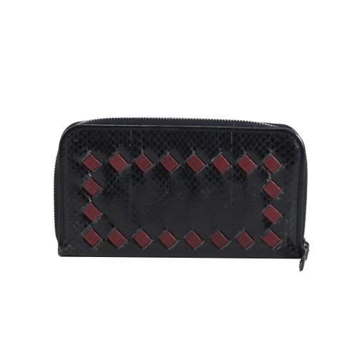 Foto Produk Bottega Veneta Wallet in Black/Red I3037 dari SECOND CHANCE