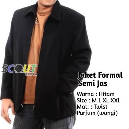 Foto Produk Jaket formal semi jas tuxedo Pria BOSS Jaket Seragam Kantor dari Scout-Cloth
