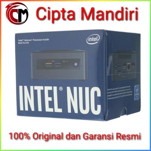 Foto Produk Intel NUC 7CJYH + SSD 120GB + DDR4 4GB dari Cipta Mandiri Computer