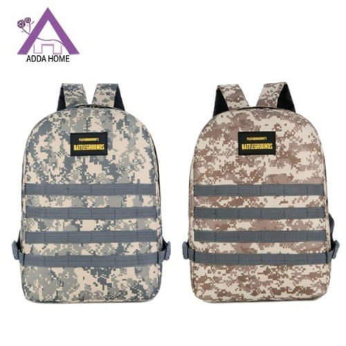 Foto Produk Tas Ransel Laptop Army Battle Ground Waterproof Serbaguna - Abu-abu dari vintagestory