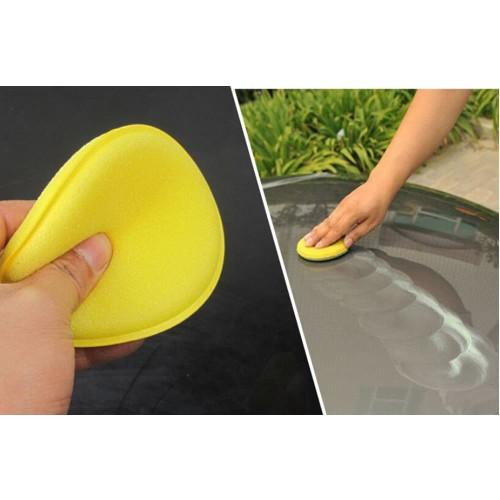 Foto Produk Applicator Pad Busa Poles Waxing Sponge Aplikator 10cm Halus Tebal 2cm dari GudangHID