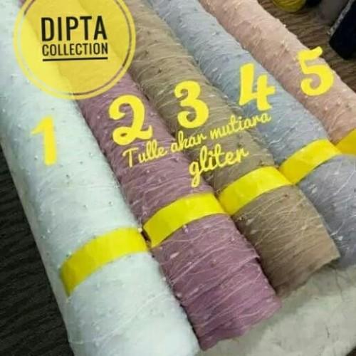 Foto Produk tile akar mutiara gliter.. kain baru harga obral dari dipta colection