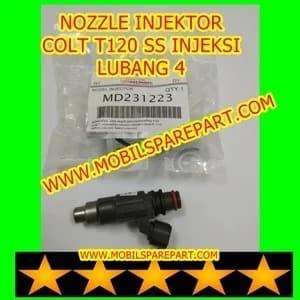 Foto Produk NOZZLE NOSEL INJEKTOR COLT T120 SS INJEKSI MPI LUBANG 4 dari www.mobilsparepartcom