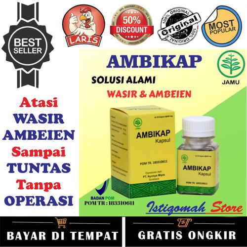 Foto Produk AMBIKAP Obat Wasir Original Asli BPOM Mengatasi Ambeien Wasir Hemoroid dari Istiqomah-Store
