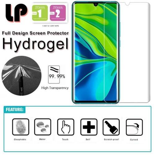 Foto Produk LP HD Hydrogel Screen Guard Xiaomi Mi Note 10 Pro - Antigores Clear dari Logay Accessories