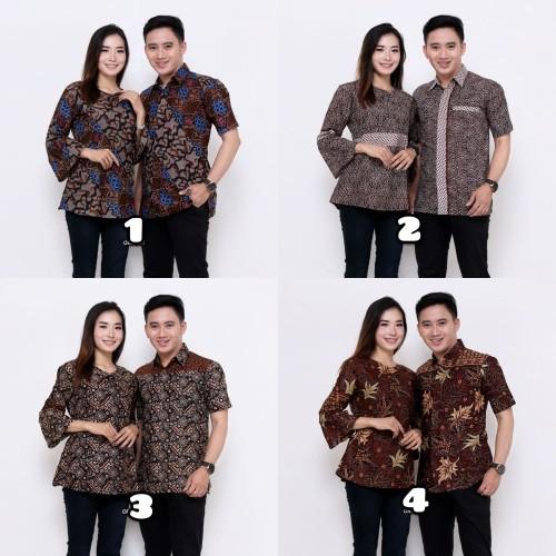 Foto Produk SARIMBIT BATIK KELUARGA COUPLE BATIK MAMA PAPA BATIK MEWAH 02 - Nomor 1 dari batik gemilang
