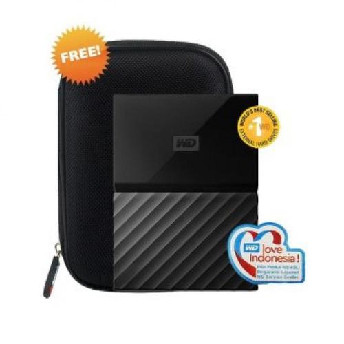 Foto Produk WD Passport 2 TB USB 3.0 - Hitam dari maru maru comp