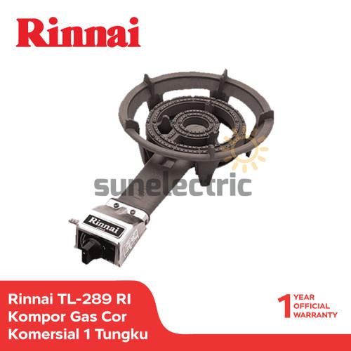 Foto Produk Rinnai Kompor Gas Komersial 1 Tungku TL-289 RI - Hitam dari SUN ELECTRIC