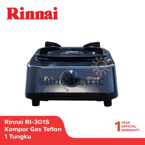 Foto Produk Rinnai RI-301 S Kompor Gas Teflon 1 Tungku - Hitam dari SUN ELECTRIC