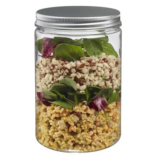 Foto Produk 700ml Botol Toples Jar ( kaca ), Tutup ALUMINIUM : Tinggi & Luas dari Beautiful Rainbow Shop