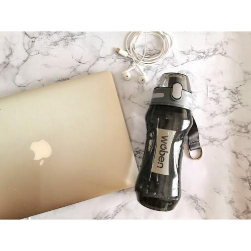 Foto Produk Botol Minum BPA FREE - Tumbler 660ml - ID-5236 - Hitam dari AbadinternasionalTrading