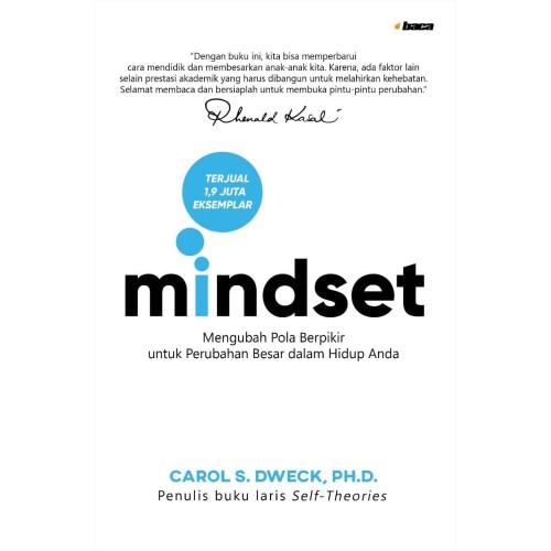 Foto Produk Buku MINDSET Softcover. Pola Pikir Motivasi Psikologi . Carol S. Dweck dari Om Botak